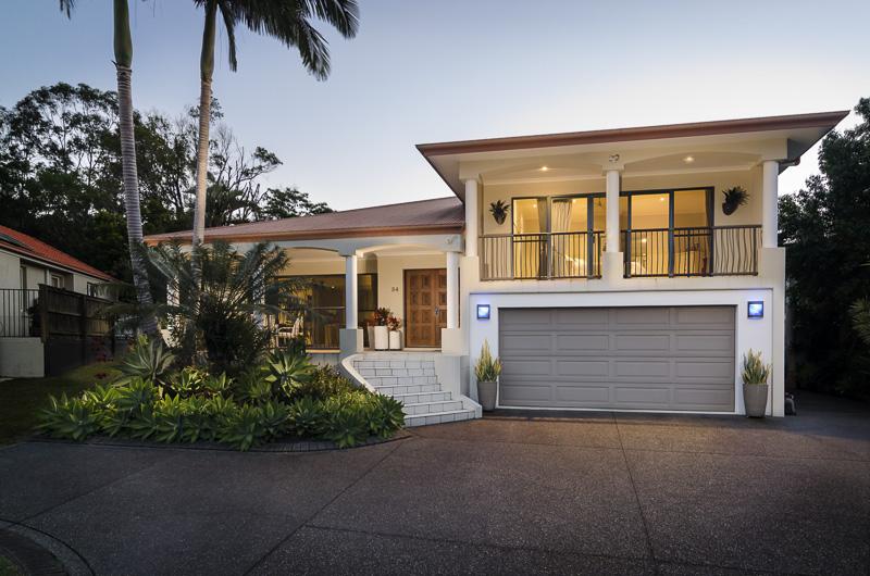 Twilight real estate photographby Propertyshoot Sunshine Coast